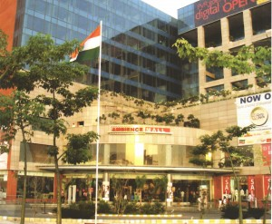 Site of Ambience Mall Gurgaon